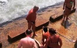 Nha Trang: Hai du khách Nga bị chết đuối