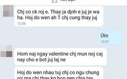 """Valentine bị người yêu cũ của chồng nhắn tin khoe """"bọn chị đã ngủ với nhau"""", vợ trẻ phản đòn ai nghe cũng hả hê"""