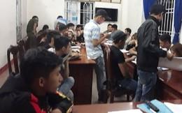 Phát hiện 38 đối tượng 'chơi' ma túy trong quán karaoke ở Quảng Nam