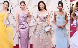 """Thảm đỏ Oscar 2019: Dương Tử Quỳnh diện đầm cổ tích bên dàn """"Con nhà siêu giàu châu Á"""", dàn mỹ nhân thi nhau """"chặt chém"""""""