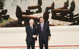 Tổng Bí thư, Chủ tịch nước hội kiến Thủ tướng Campuchia Hun Sen
