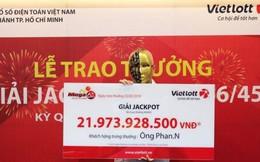 """Tiết lộ bất ngờ của """"đại gia"""" vừa trúng gần 22 tỷ đồng Vietlott"""