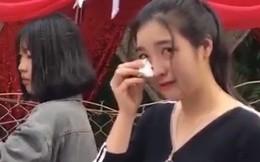 Clip cô gái xinh đẹp bật khóc giữa đám cưới của người yêu 9 năm gây sốt, nhưng sự thật rất sốc