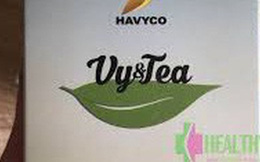 Trà thảo mộc Vy&Tea bị phát hiện có chất cấm khi xuất khẩu sang Hàn Quốc