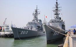 Ngắm đôi tàu huấn luyện Nhật Bản vừa đến Đà Nẵng
