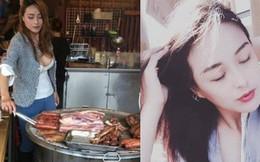 Cô chủ quán thịt lợn vừa xinh vừa sexy trên núi Alishan khiến du khách nườm nượp rủ nhau đến xem mặt