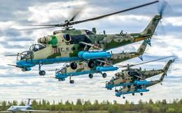 """[ẢNH] Nga """"gây choáng"""" cho phương Tây khi bắt tay nâng cấp hàng trăm """"xe tăng bay"""" Mi-35M"""