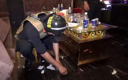 Ập vào quán karaoke Luxury, phát hiện gần 40 người dương tính với ma túy