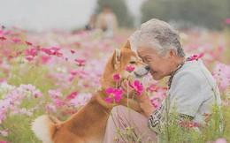 Bộ ảnh đầy cảm xúc của cụ bà Nhật Bản và chú cún con: Khi về già, chỉ cần một người đồng hành đáng yêu thế này thôi!