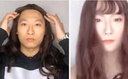 Giả gái để cảnh báo lừa đảo hẹn hò trực tuyến, nam sĩ quan cảnh sát bất ngờ gây sốt vì còn xinh hơn cả chị em