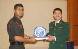 'Chúng tôi ngưỡng mộ Quân đội nhân dân Việt Nam!'