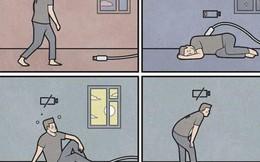 Bộ tranh tả thực về cuộc sống hiện đại, xem để biết mình lạc lõng đến mức độ nào