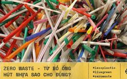 Từ bỏ ống hút nhựa để bảo vệ môi trường: Không phải cứ thay bằng ống tre, inox... là tốt