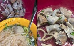 Mất 45 nghìn ăn tô hủ tiếu bò, cô gái Sài Gòn suýt ngất khi được khuyến mại thêm đĩa lòng toàn sán