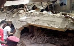 Sập trường học, hơn 100 học sinh tiểu học bị chôn vùi