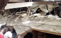 Sập tòa nhà trường học ở Nigeria: 7 trẻ em đã được giải cứu
