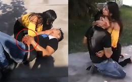 Cô gái gào khóc ôm bạn trai nằm thoi thóp trên đường, nạn nhân thều thào 1 câu khiến ai cũng vỡ lẽ về sự thật đằng sau