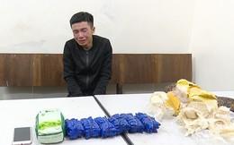 Bắt quả tang vụ vận chuyển gần 12.000 viên hồng phiến, 1 kg ma túy đá