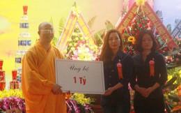 'Chùa Ba Vàng' ở Quảng Nam nhận tiền tỷ công đức rồi ngừng xây