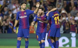 """Dembele trở lại, Barca như """"hổ mọc thêm cánh"""" trước Man Utd"""