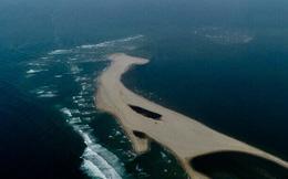 Đảo cát dài 3 cây số nổi lên giữa biển Hội An: Hiện tượng không lạ nhưng chưa thể lý giải