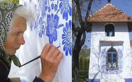 90 tuổi ở nhà chán chẳng biết làm gì, cụ bà đem bút ra 'tô màu' cho cả ngôi làng khiến ai nhìn thấy cũng nể