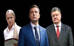 Bầu cử Tổng thống Ukraine: Danh hài Zelensky áp đảo trước Poroshenko