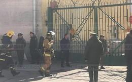 Nổ lớn ở học viện quân sự Nga, nhiều người bị thương