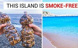 """Đây là hòn đảo """"không thuốc lá"""" đầu tiên trên thế giới và hãy xem môi trường đã cảm ơn nó như thế nào"""