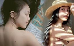 Vì sao bức ảnh Hiền Thục bán nude dùng tay che ngực gây tranh cãi?