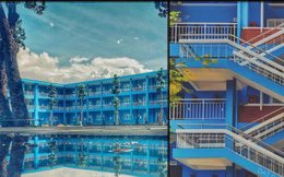 Trường Đại học với màu xanh siêu đẹp mắt, khung cảnh thơ mộng như trong truyện tranh Nhật Bản