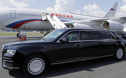 Siêu xe chở Tổng thống Putin gây chú ý khi thăm nhà máy Mercedes-Benz