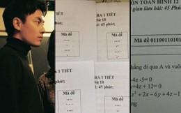Khi thầy cô sở hữu IQ 200 làm mã đề thi: Chỉ thêm 1 dấu chấm, 1 dấu phẩy cũng khiến học sinh khóc thét