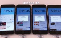 Cập nhật phiên bản iOS càng mới, iPhone càng tốn pin