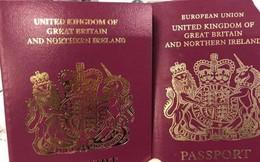 Anh bắt đầu cấp hộ chiếu không có chữ 'Liên minh châu Âu'