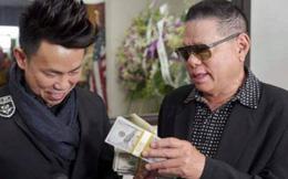 Tỉ phú Hoàng Kiều mang gần 700 triệu tới viếng đám tang nghệ sĩ Anh Vũ