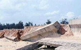 Kiểm điểm lại vụ kè 80 tỷ ở Bình Định mới làm đã tan nát