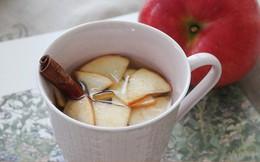 Nhà tôi quanh năm có hũ táo ngâm trong tủ lạnh, chẳng bao giờ lo cảm sốt lúc giao mùa