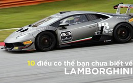 [Photo Story] 10 điều có thể ngay cả 'fan' Lamborghini cũng chưa biết