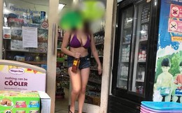 Mùa hè đến rồi, cứ nhìn cách ăn mặc khiến thiên hạ trố mắt ngạc nhiên của cô gái này thì biết