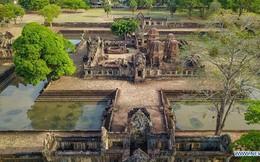 Vẻ đẹp đền Muang Tam ở tỉnh Buriram của Thái Lan