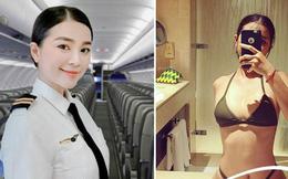 Nữ phi công Việt sở hữu body gợi cảm và gương mặt siêu hack tuổi