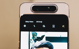 """Đây là Samsung Galaxy A80: Camera """"nhào lộn"""" vừa thò thụt vừa xoay lật, màn hình """"New Infinity"""" không tai thỏ, camera 48MP"""