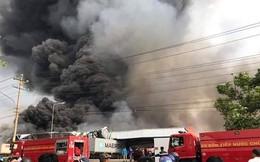 Bình Dương: Cháy lớn tại khu công nghiệp Sóng Thần 2, nhiều nhà xưởng đổ sập