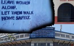 Bên ngoài sân vận động chuẩn bị cho SEA Games tại Philippines: Cũ kỹ, sơ sài và dòng chữ ám ảnh về nạn cưỡng hiếp