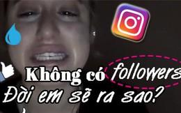 Tài khoản Instagram 100 nghìn lượt theo dõi bị xóa, hot girl khóc như mưa vì sẽ phải đi làm 8 tiếng/ngày để kiếm sống