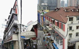 """Cận cảnh cuộc sống lao đao trong tòa nhà """"mỏng như tờ giấy"""" ở Thượng Hải"""