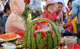 Đặc sắc Lễ hội dưa hấu lần đầu tiên ở Việt Nam