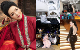 """Nhan sắc không tuổi và khối tài sản """"khủng"""" của Hoa hậu Đền Hùng Giáng My"""
