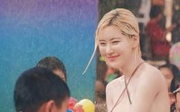 Phát hiện cô nàng chiếm spotlight tại Tết té nước Songkran, tìm info mới biết hóa ra là người quen
